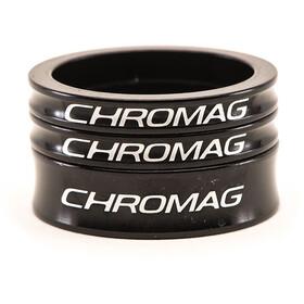 Chromag Kit di distanziali per serie sterzo, nero